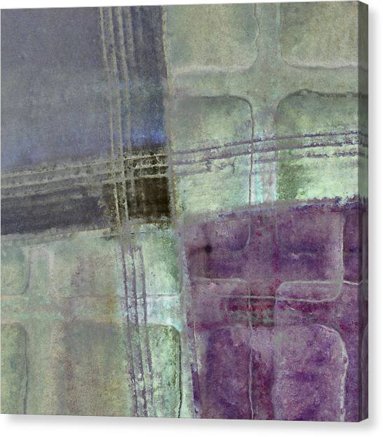 Pavers Canvas Print - Glass Crossings by Carol Leigh