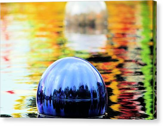 Glass Floats Canvas Print