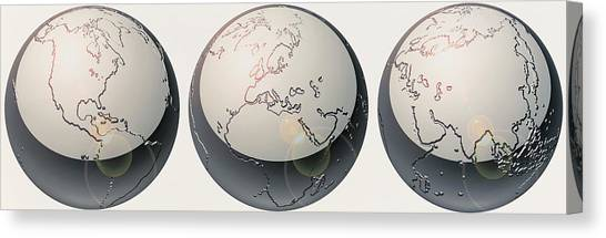 Celestial Globe Canvas Print - Glass Globes by Panoramic Images