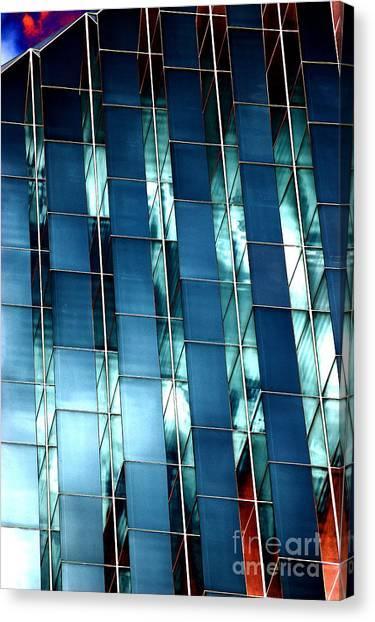 Glass House II Canvas Print