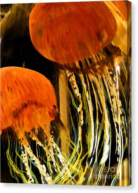 Glass No1 Canvas Print