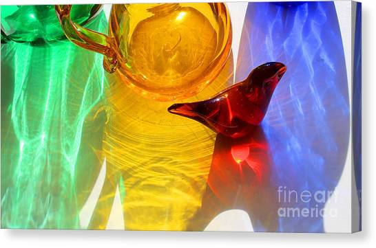 Glass Reflections #8 Canvas Print