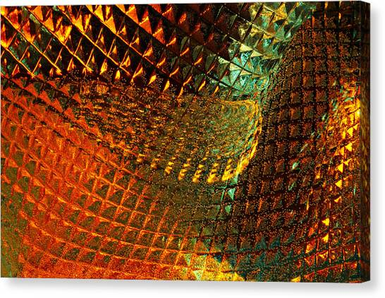 Invigorate - Glass Works 16 Canvas Print