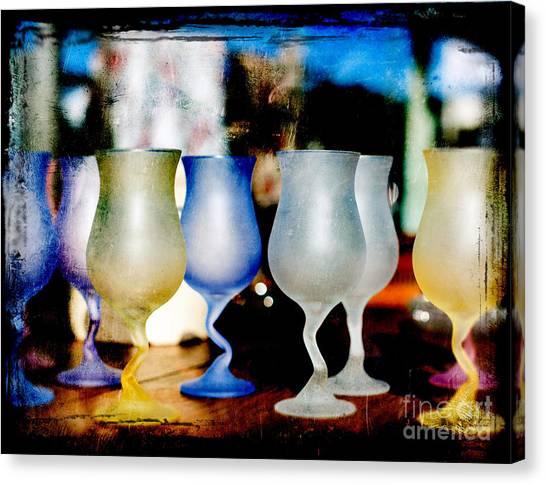 Glassware Canvas Print by Bobbi Feasel