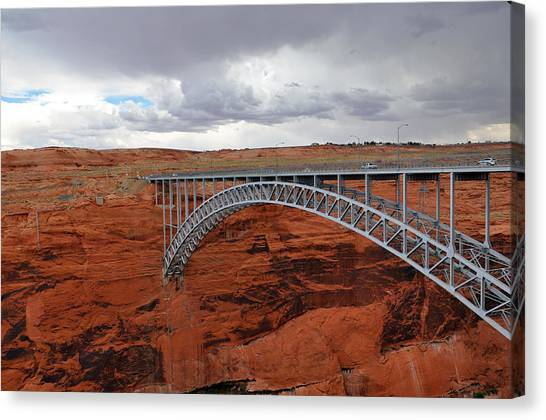 Glen Canyon Bridge Canvas Print