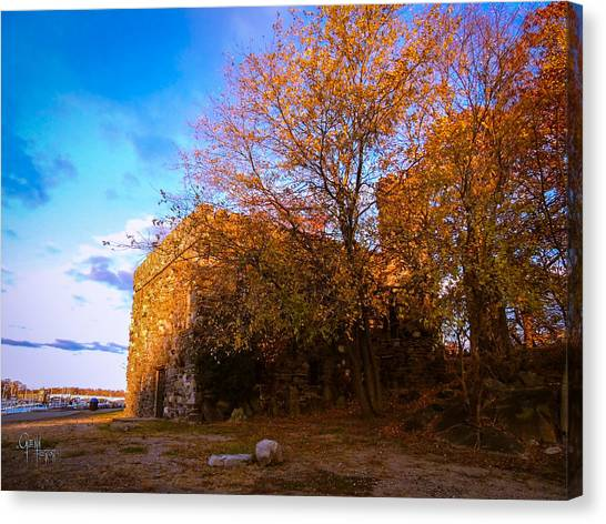 Glen Island Castle Canvas Print