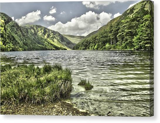 Glendalough Upper Lake Canvas Print