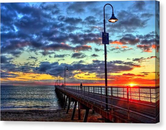 Glenelg Jetty Canvas Print