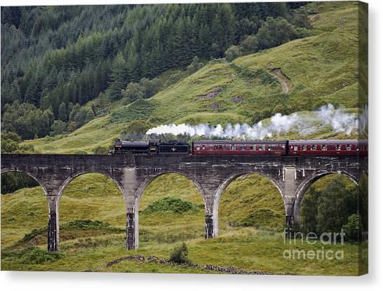 Glenfinnan Viaduct - D002340 Canvas Print