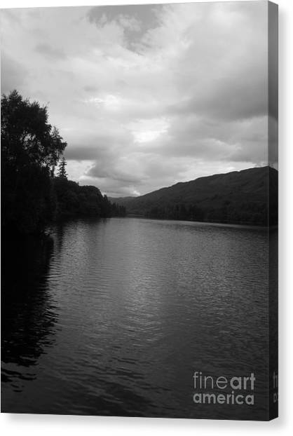 Glengarry's Loch Canvas Print