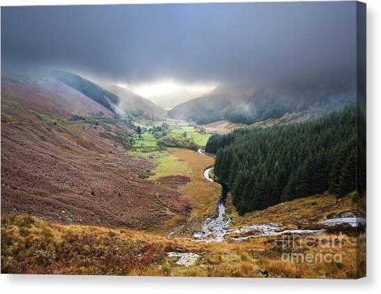 Glenmacnass 1 Canvas Print by Michael David Murphy
