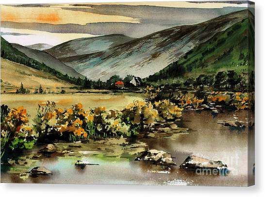 Glenmalure  Valley Canvas Print