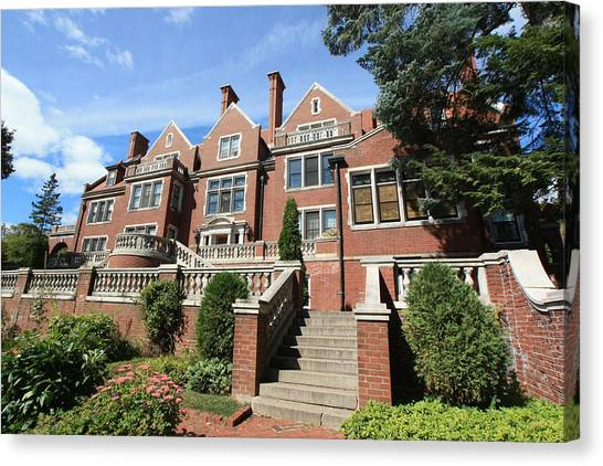 Glensheen Mansion Exterior Canvas Print