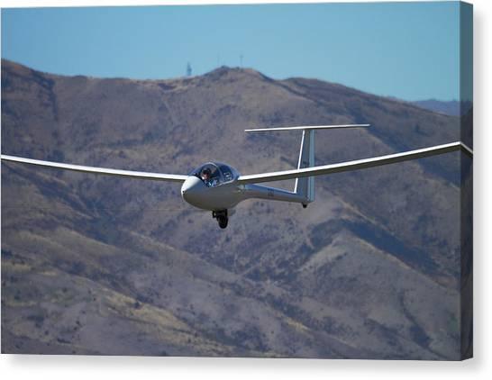 Glider, Warbirds Over Wanaka, Wanaka Canvas Print by David Wall
