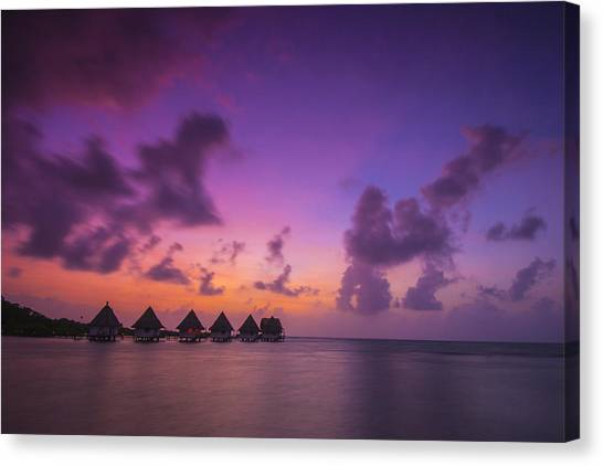Fiji Canvas Print - Glimpse Of Heaven by Aaron Bedell