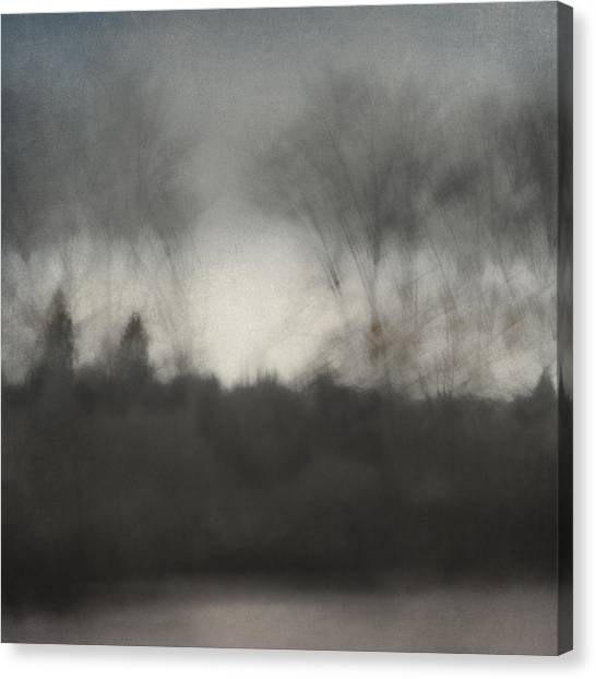 Soft Focus Canvas Print - Glimpse Of The Willamette by Carol Leigh