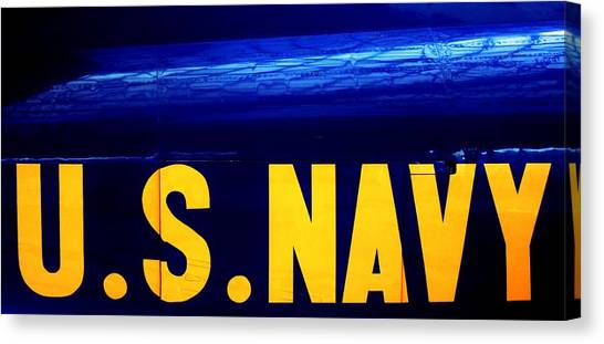 Navy Canvas Print - Global Force by Benjamin Yeager