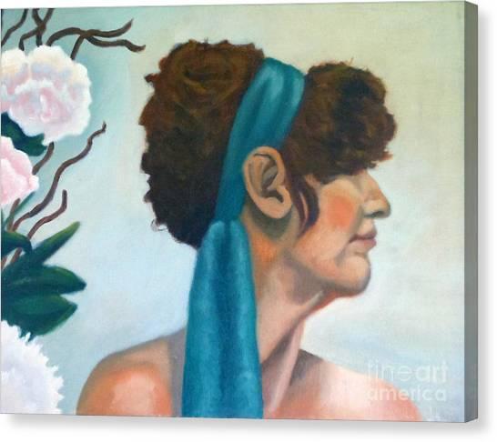 Gloria's Flowers Canvas Print