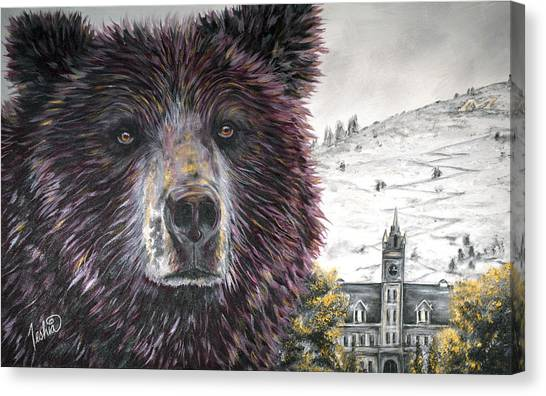 Glorious Griz Canvas Print