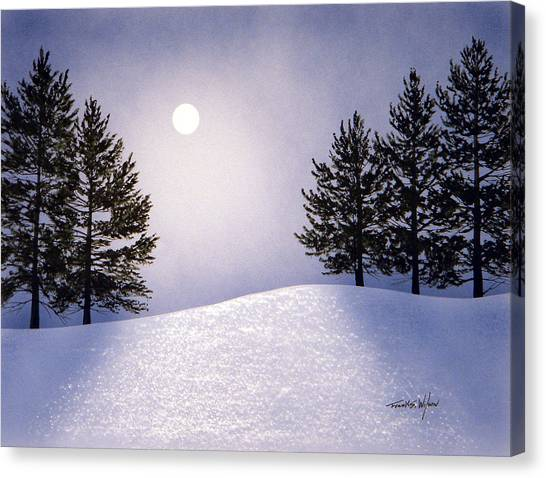 Glorious Night Canvas Print