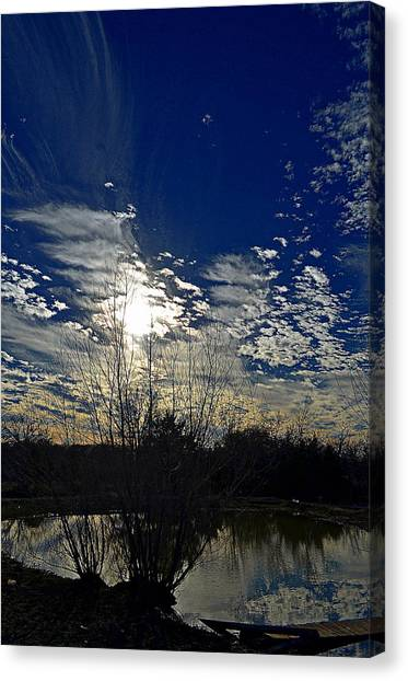 Glorious Reflection Canvas Print by Kelly Kitchens