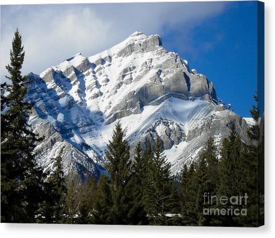 Glorious Rockies Canvas Print