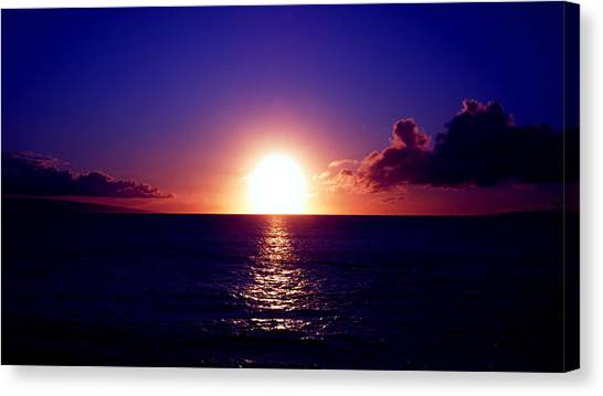 Glorious Sunset Canvas Print