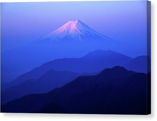 Mount Fuji Canvas Print - Glory by