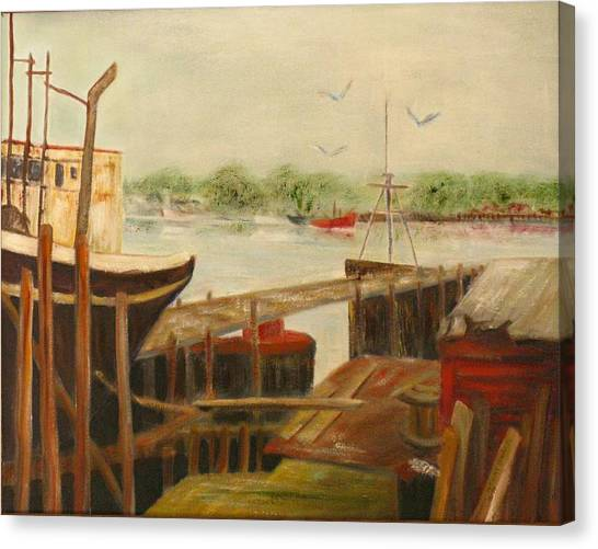 Gloucester Canvas Print