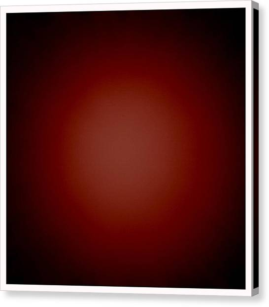 Dada Art Canvas Print - Glow by Michelle Calkins