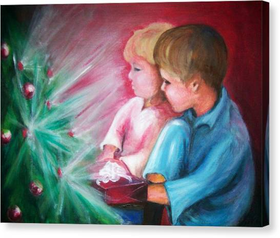 Glow Of Christmas Canvas Print