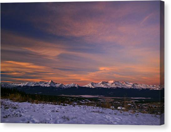 Glow Of Morning Canvas Print