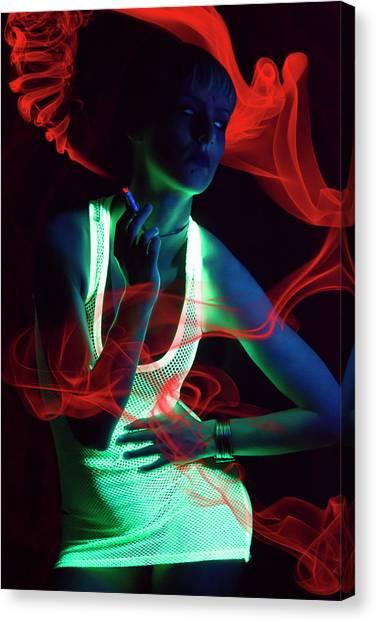 Glow Canvas Print by Vojislav Markovic