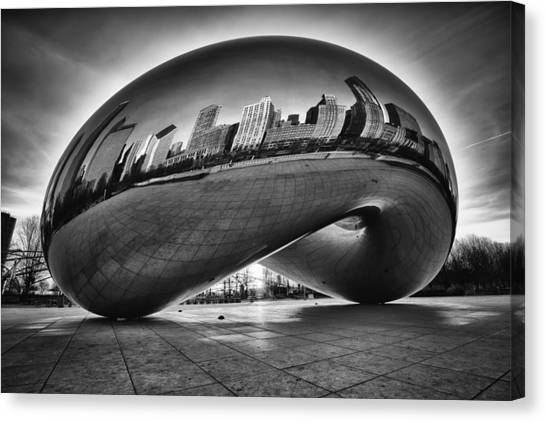 Glowing Bean Canvas Print
