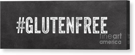 Health Care Canvas Print - Gluten Free by Linda Woods