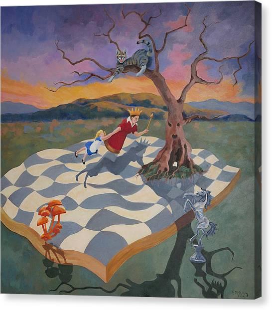 Go Ask Alice Canvas Print