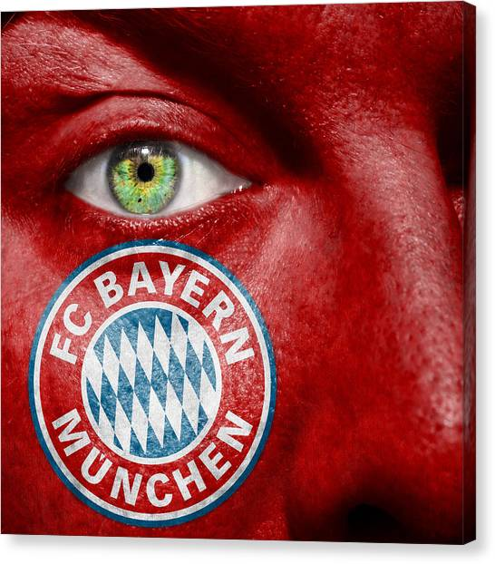 Fc Bayern Munich Canvas Print - Go Fc Bayern Munchen by Semmick Photo
