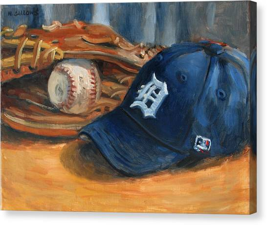 Go Tigers Canvas Print by Nora Sallows