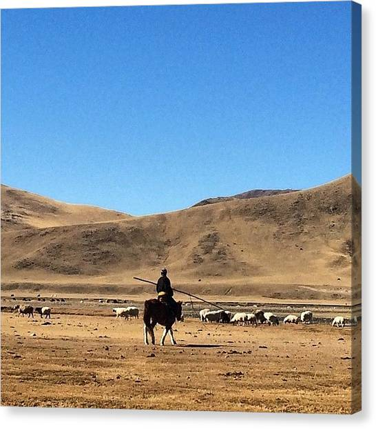 Japanese Canvas Print - Go To The West. #nomade #people In by Ryoji Japan