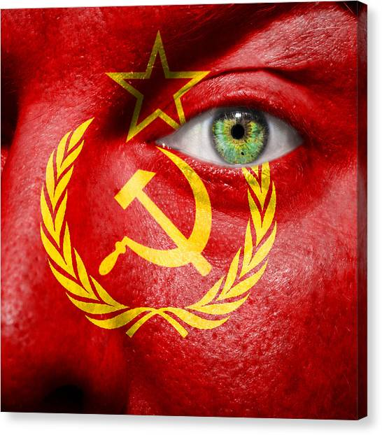 Go Ussr Canvas Print