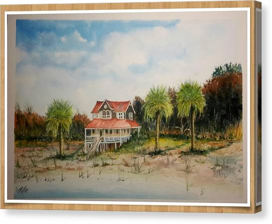 Goat Island South Carolina Sold Canvas Print
