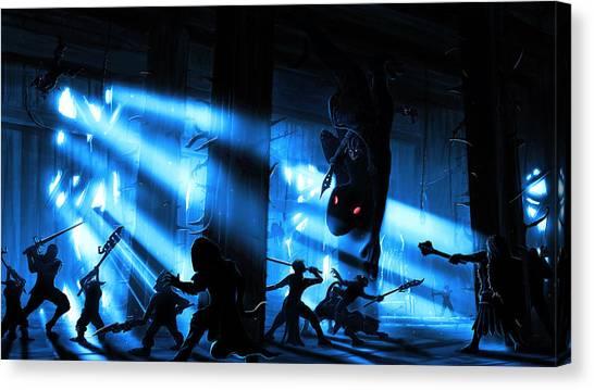 Goblin Throne Room Canvas Print
