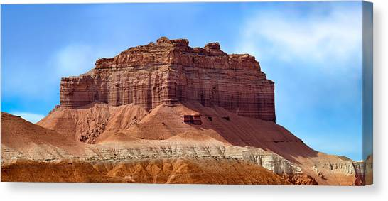 Goblin Valley Pano 2 Canvas Print