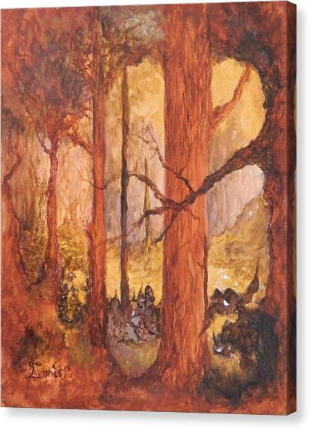 Goblins' Glen Canvas Print