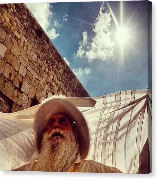 Judaism Canvas Print - God by Erez Ben Simon