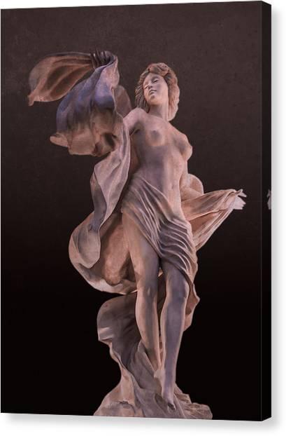 Goddess Of Seduction Canvas Print