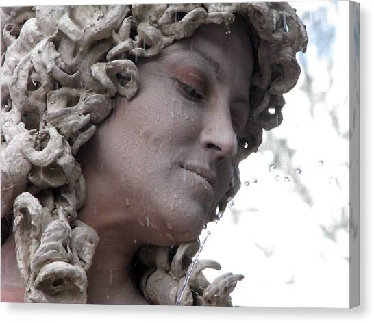 Goddess Of Stone Canvas Print