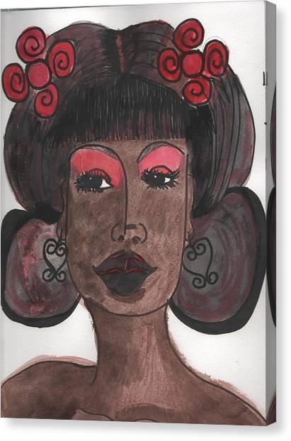 Goddess One Canvas Print
