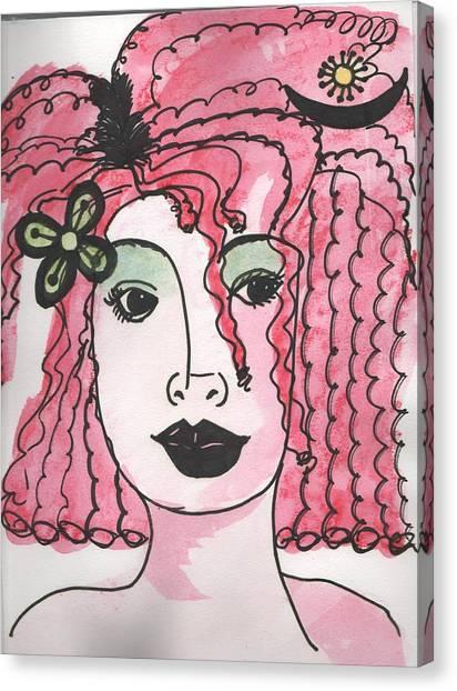 Goddess Two Canvas Print