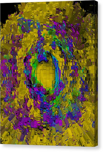 God's Fingerprint - Extruded Canvas Print by Colleen Cannon